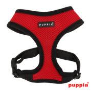 puppia soft harness vermelho