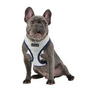 peitoral puppia mischief cinzento cão